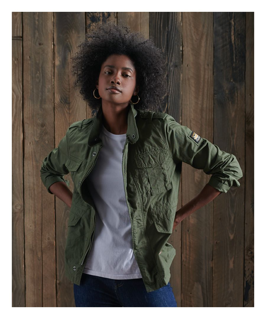 Image for Superdry Ripstop Rookie Jacket