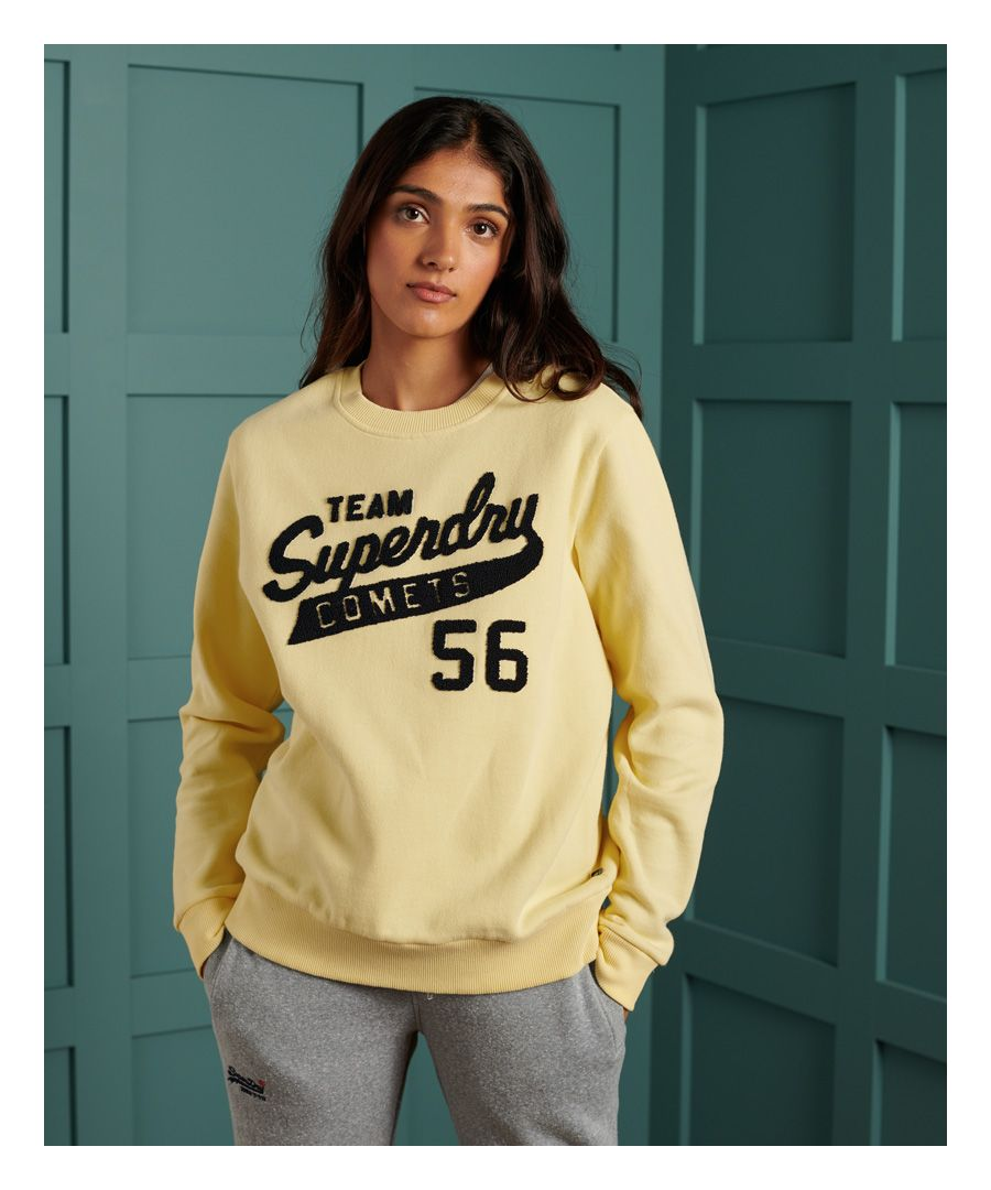 Image for Superdry Stone Wash Graphic Crew Sweatshirt