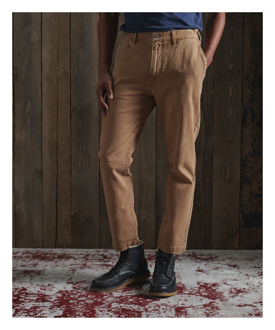 Image for Superdry Taper Canvas Chinos