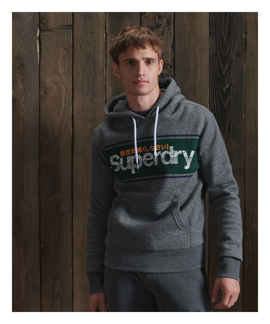 Image for Superdry Core Logo Stripe Hoodie