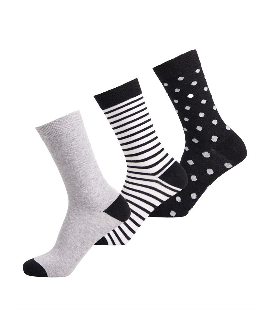 Image for Superdry Organic Cotton Novelty Socks 3 Pack
