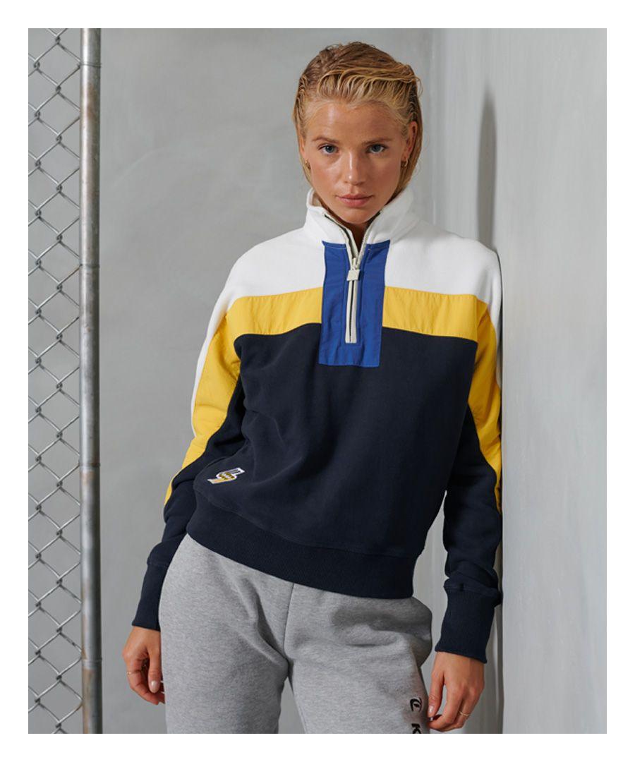 Image for Superdry Sportstyle Dolmon Funnel Sweatshirt