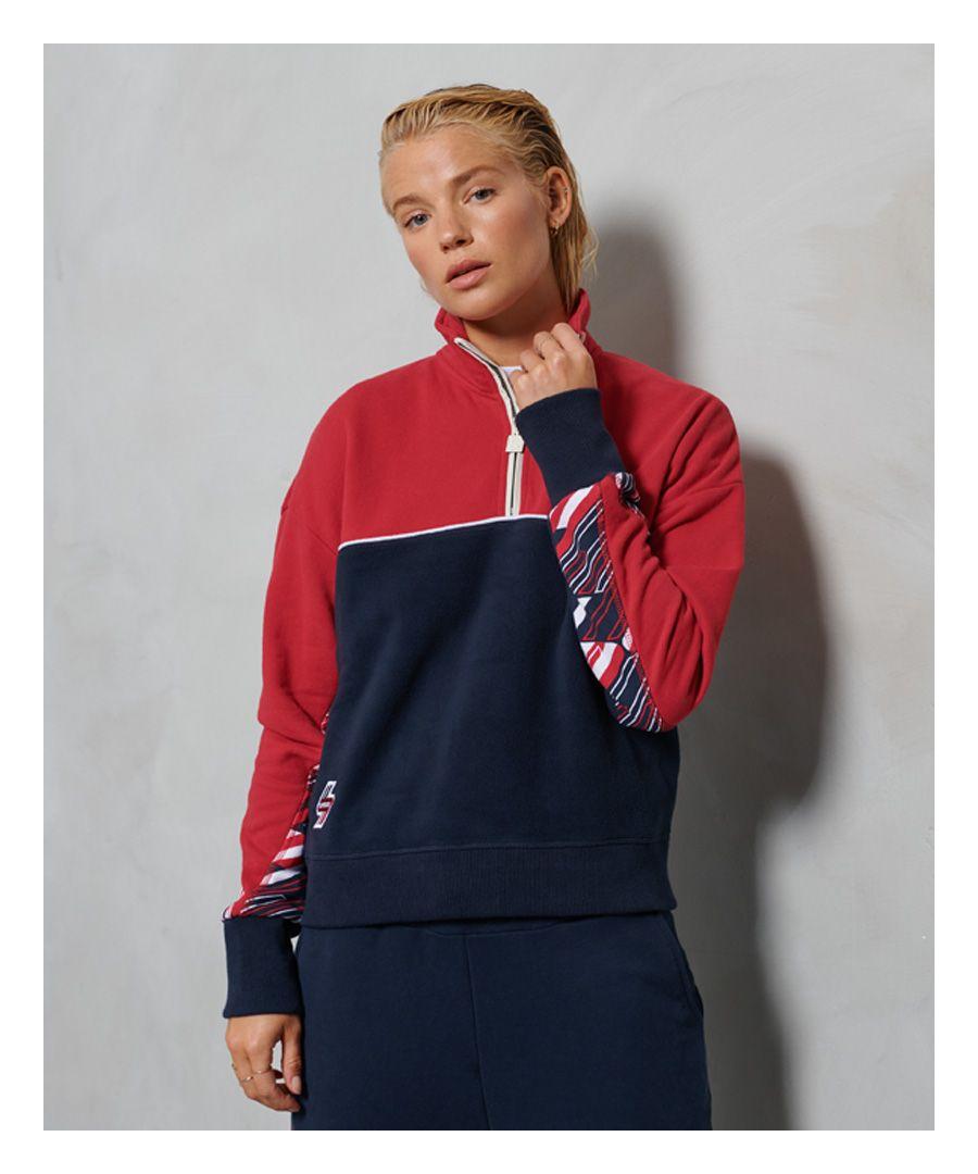 Image for Superdry Sportstyle Funnel Sweatshirt