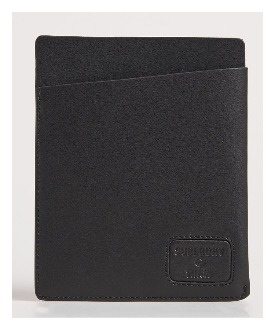 Image for Superdry NYC Leather Passport Holder