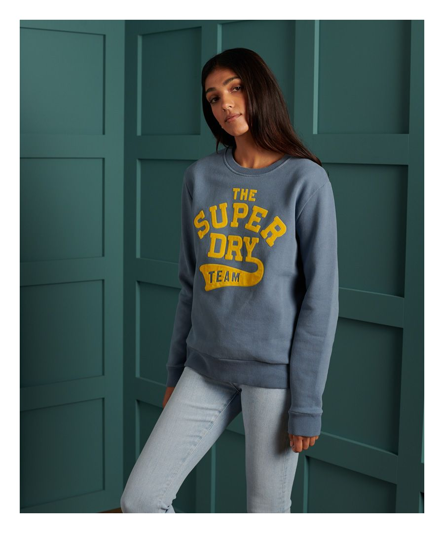 Image for Superdry Limited Edition Graphic Crew Sweatshirt