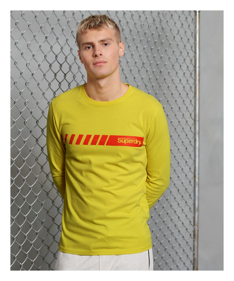 Image for Superdry Core Logo Sport Stripe Top