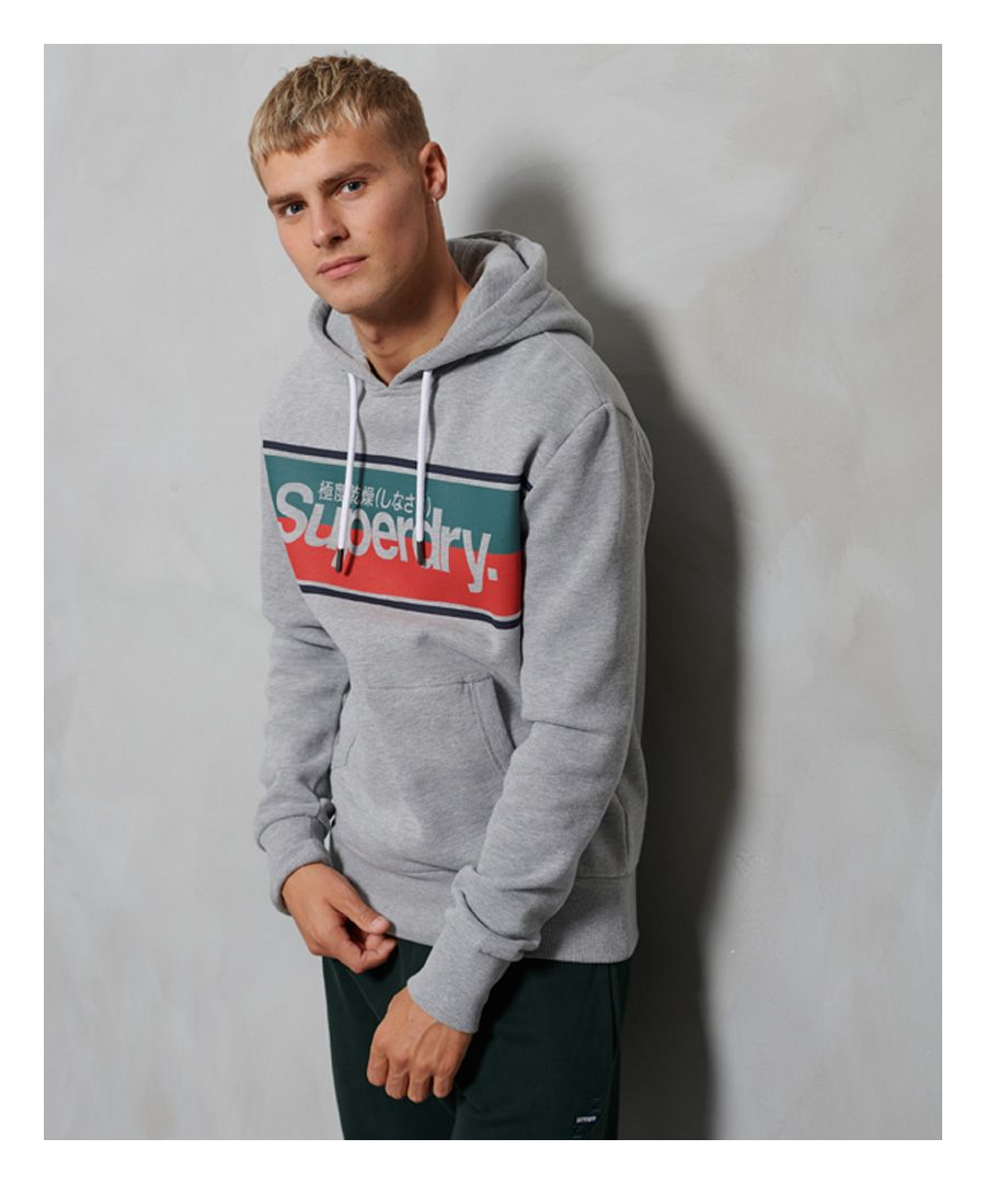 Image for Superdry Core Stripe Hoodie