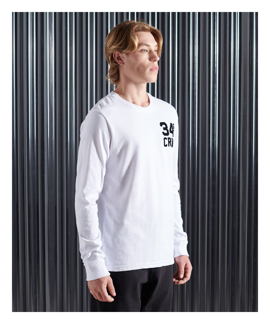 Image for Superdry Mono Urban Long Sleeve Top