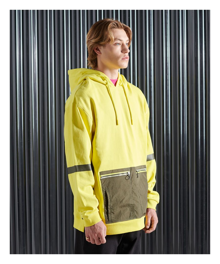 Image for Superdry Tech Code Box Fit Hoodie