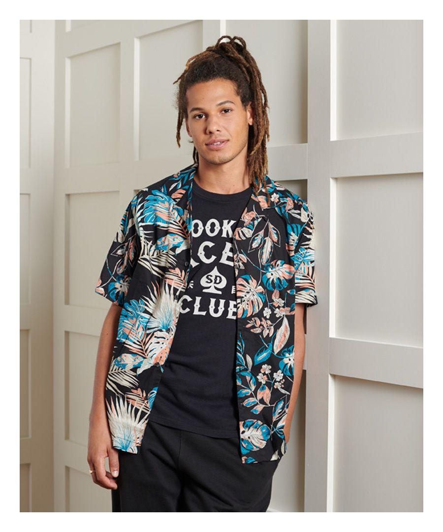 Image for Superdry Short Sleeve Cut & Sew Hawaiian Shirt