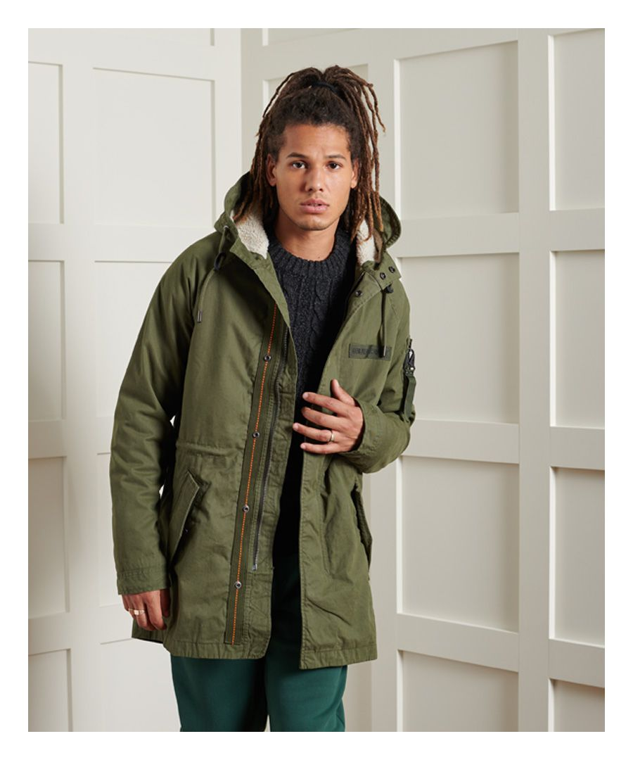 Image for Superdry Winter Aviator Parka Jacket