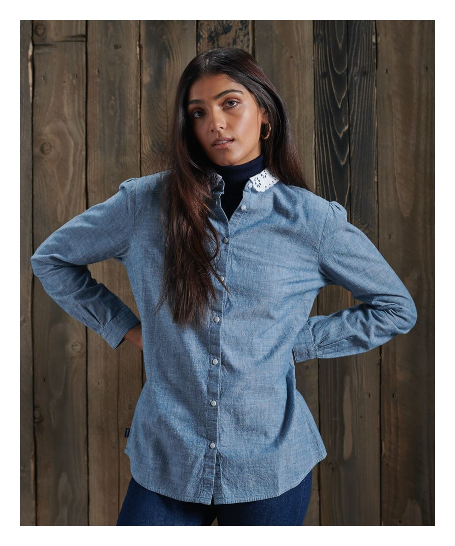 Image for Superdry Penny Lace Shirt