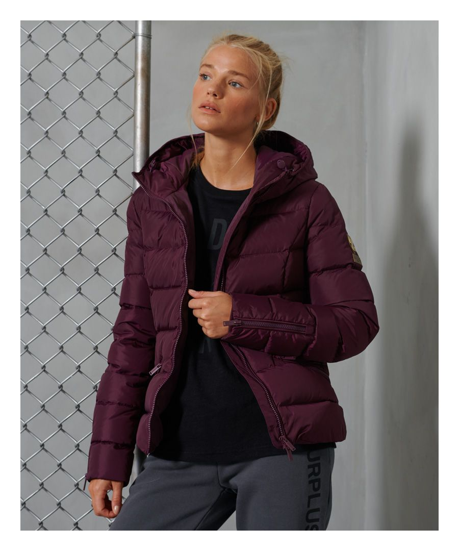 Image for Superdry Premium Down Luxe Quilt Jacket