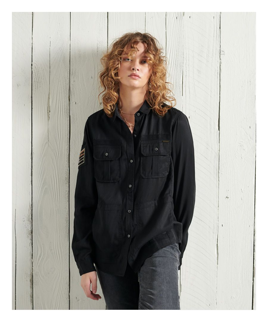 Image for Superdry Military Pocket Shirt