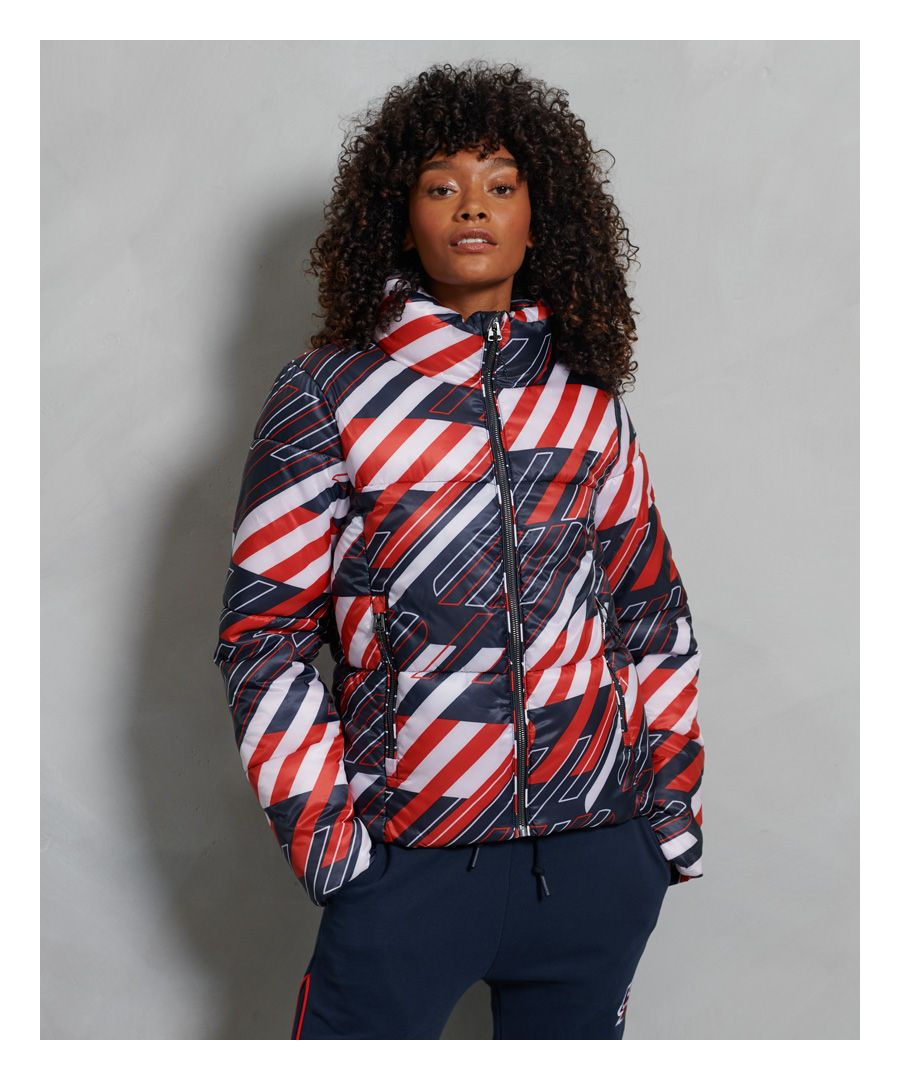 Image for Superdry Sportstyle Statement Puffer Jacket