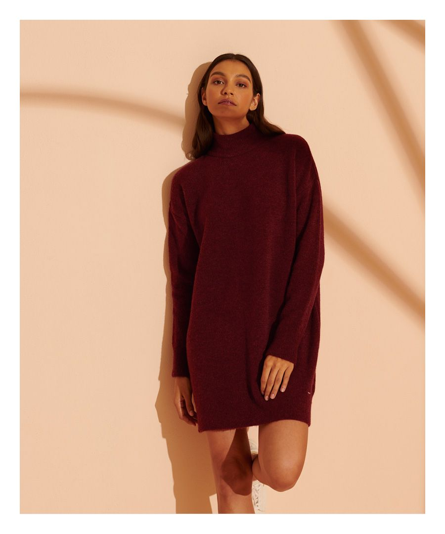 Image for Superdry Hailey Knitted Dress