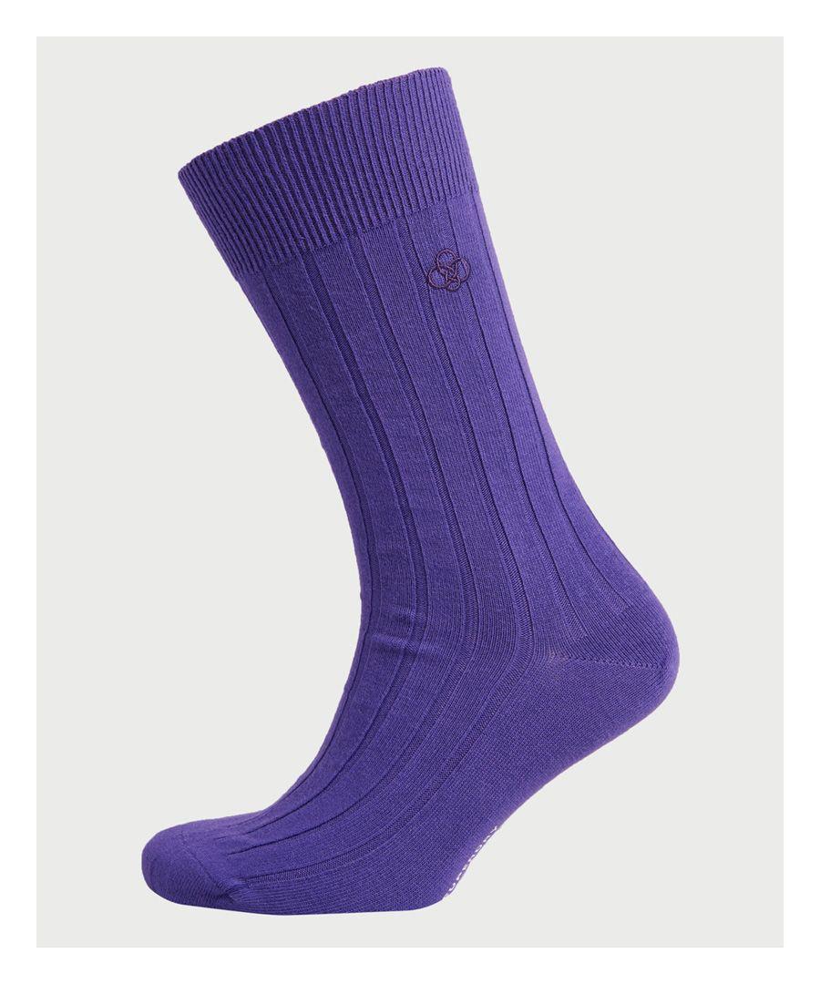 Image for Superdry Organic Cotton Casual Rib Socks