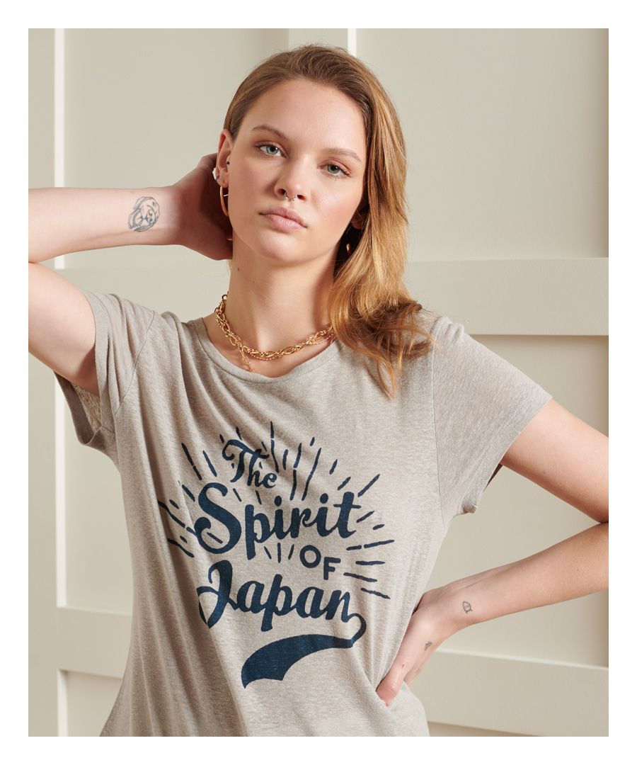 Image for Superdry Montauk Lace Graphic T-Shirt