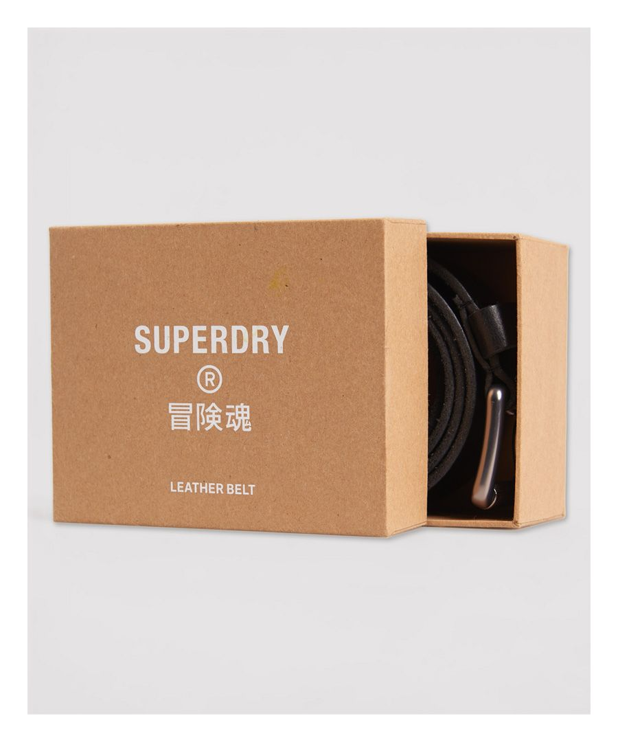 Image for Superdry Premium Boxed Leather Belt