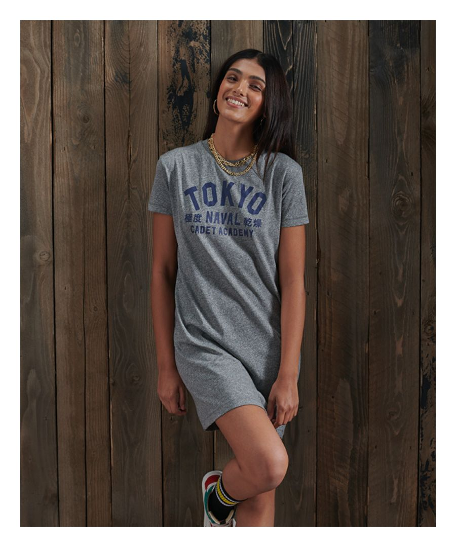 Image for Superdry Japan Unit T-shirt Dress