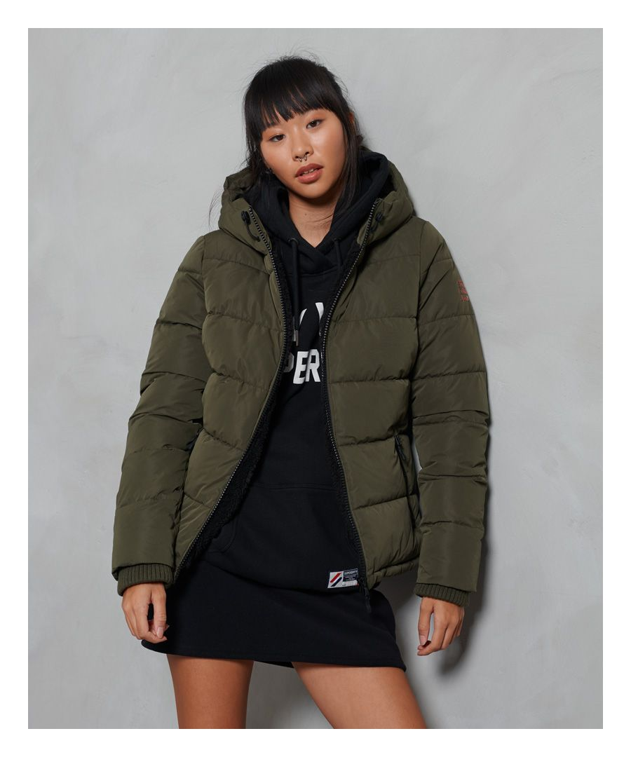 Image for Superdry Akan Microfibre Padded Jacket