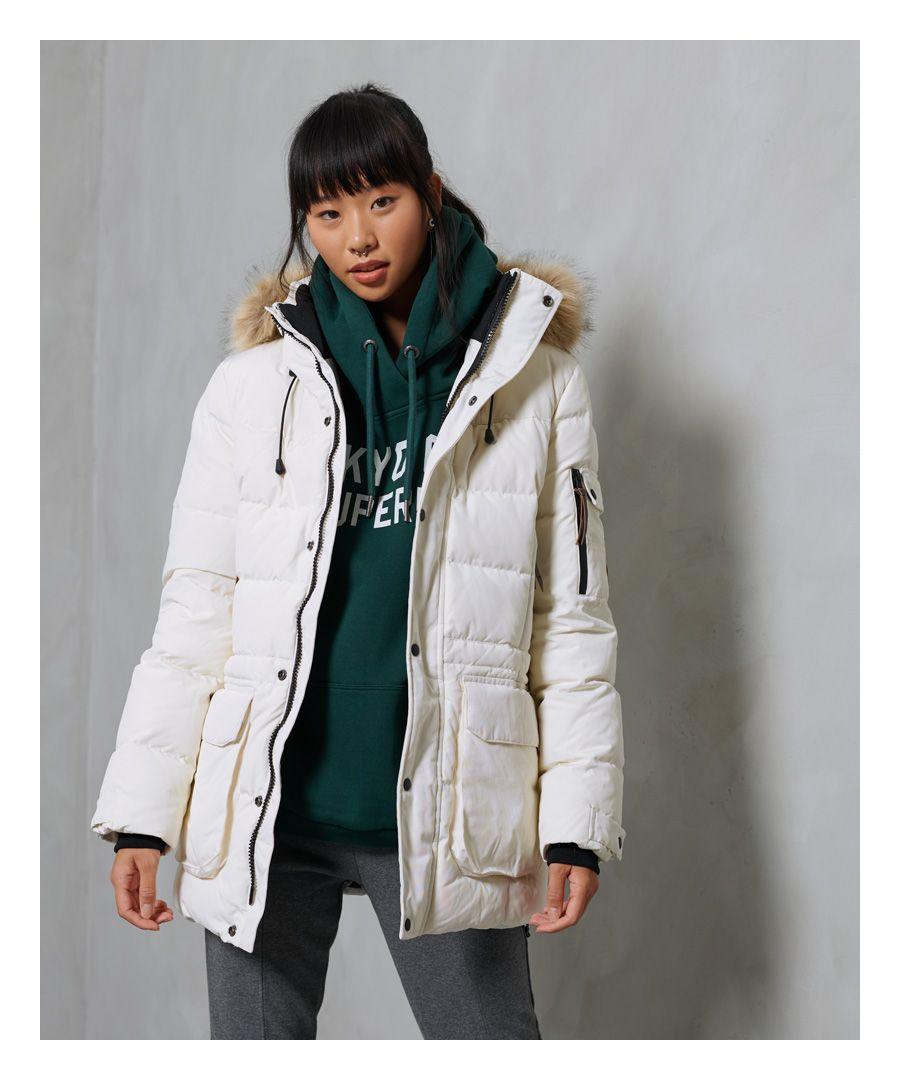 Image for Superdry Premium Down Boyfriend Coat