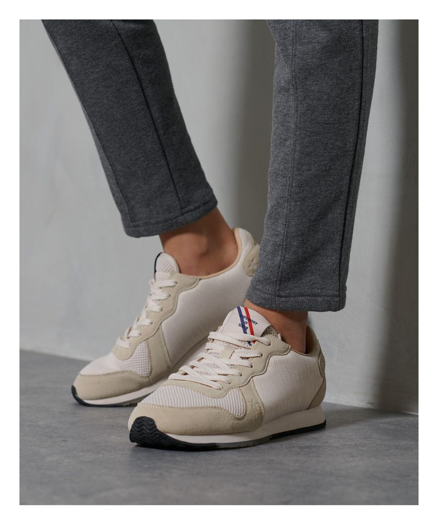 Image for Superdry Retro Logo Runner Trainers