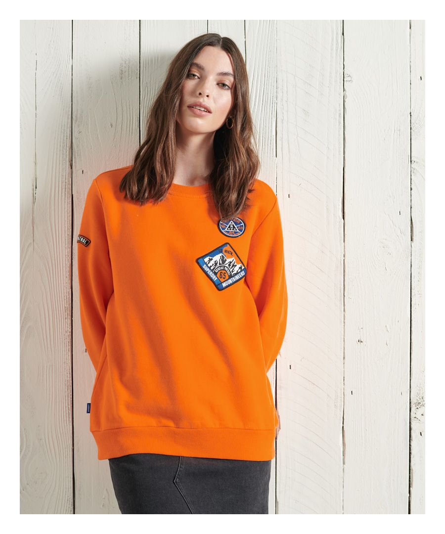 Image for Superdry Limited Edition Standard Patch Crew Sweatshirt