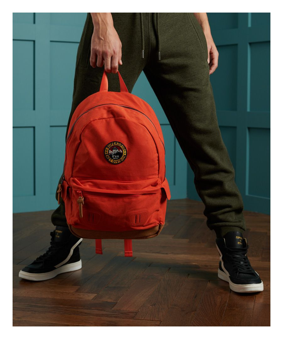 Image for Superdry Unisex Waxed Canvas Montana Rucksack
