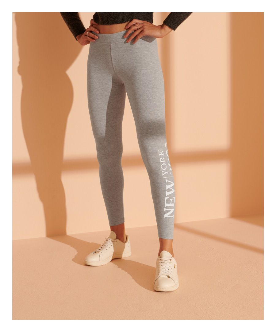 Image for Superdry Fashion Graphic Legging