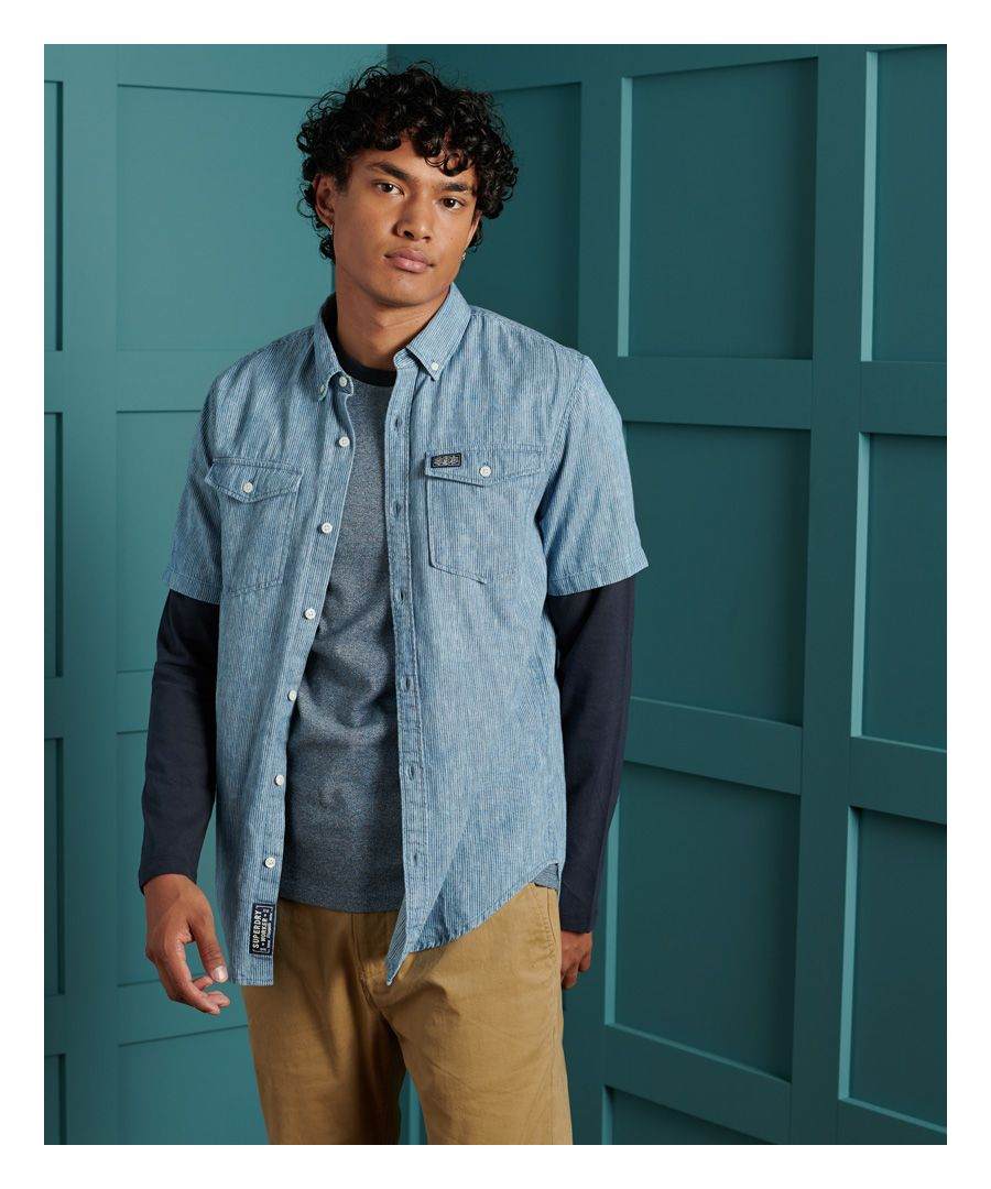 Image for Superdry Loom Worker Shirt