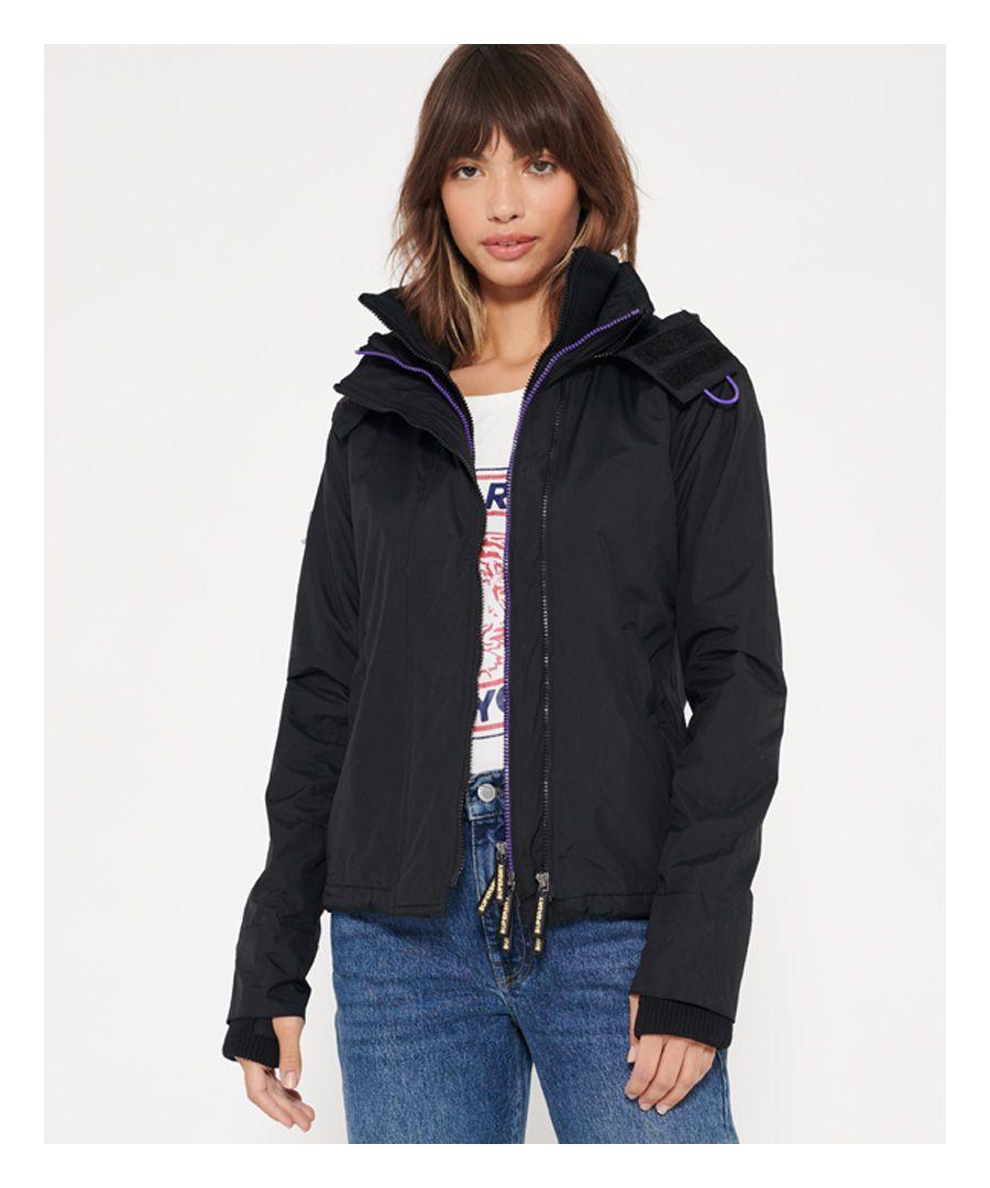 Image for Superdry Pop Zip Hood Arctic SD-Windcheater Jacket