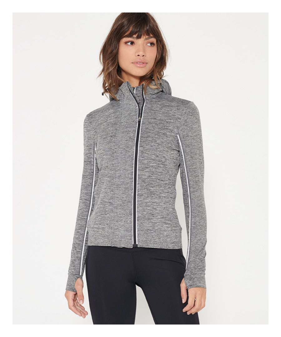 Image for Superdry SD Sport Coregym Panel Zip Hoodie