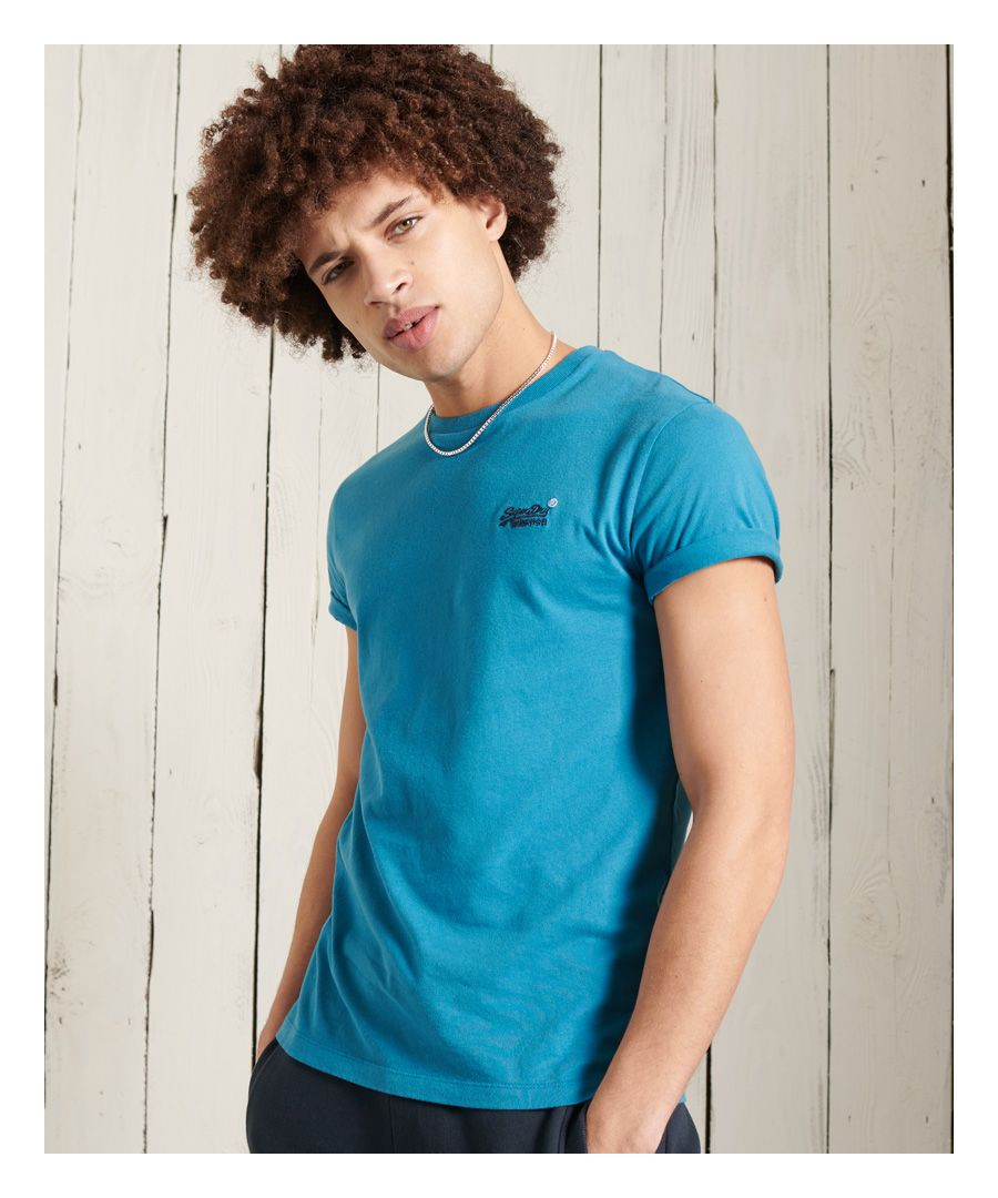 Image for Superdry Orange Label Embroidery T-Shirt