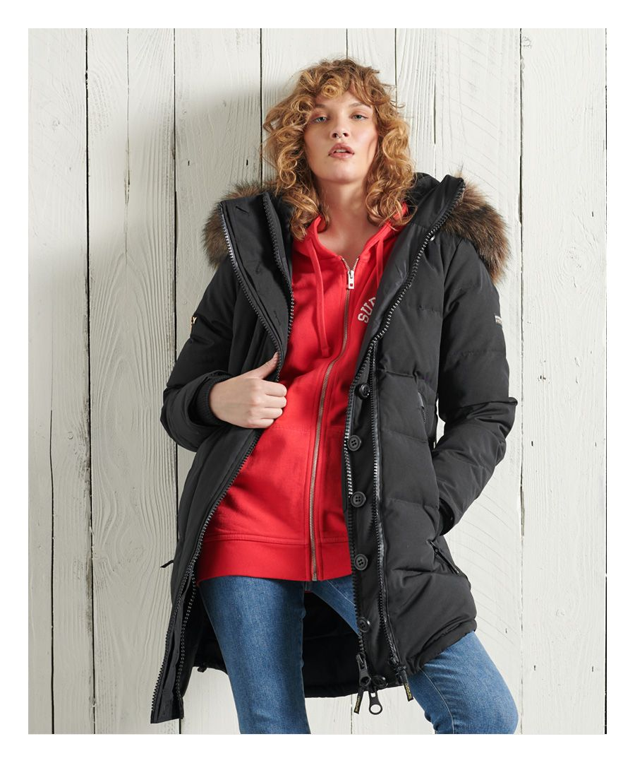 Image for Superdry Premium Down Classics Rescue Parka Coat