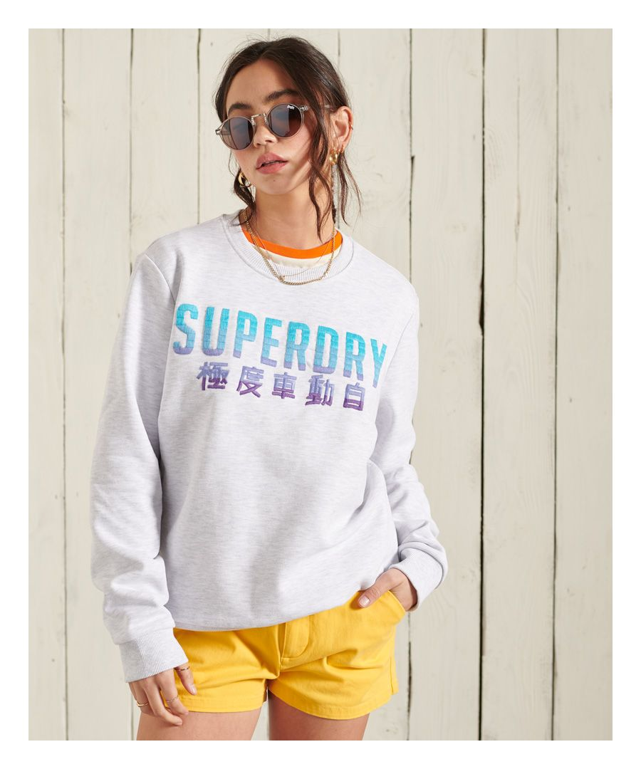 Image for Superdry Embroidery Fade Standard Crew Sweatshirt