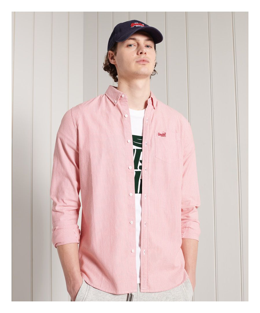 Image for Superdry Classic University Oxford Shirt