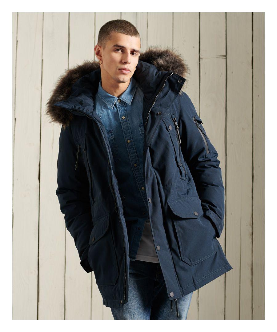 Image for Superdry Premium Down Parka Coat