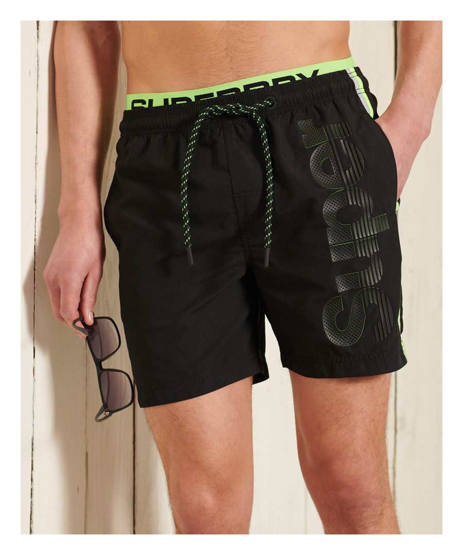Image for Superdry State Volley Swim Shorts