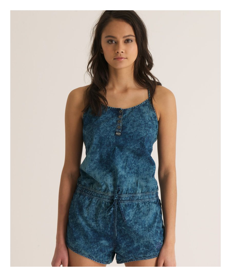 Image for Superdry Tie Dye Playsuit