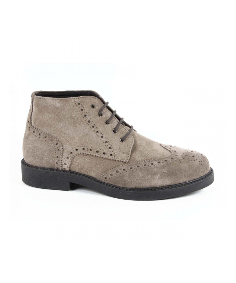 Image for V 1969 Italia Mens Ankle Boot V2660 CAMOSCIO TAUPE
