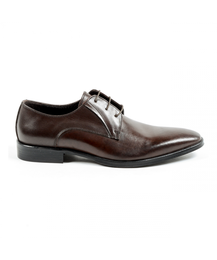 Image for V 1969 Italia Mens Classic Shoe Brown KEVIN