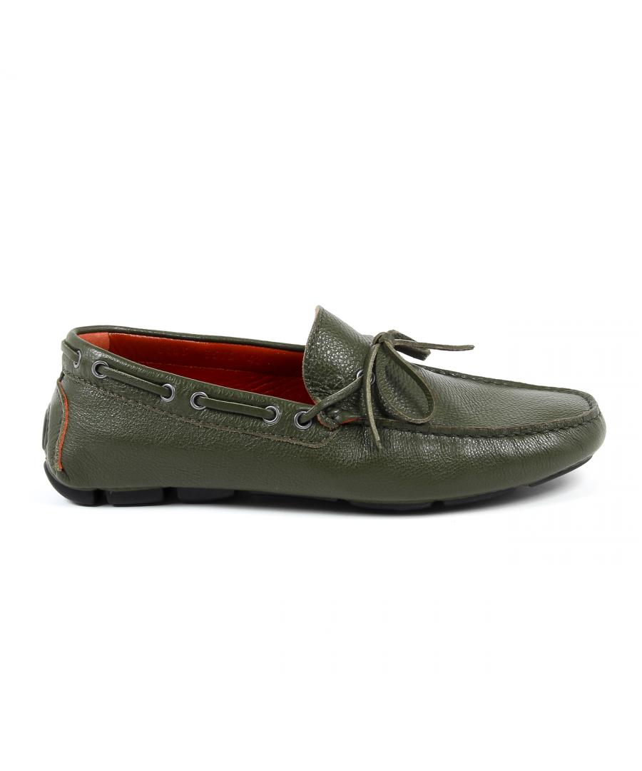 Image for V 1969 Italia Mens Loafer Green ADAM
