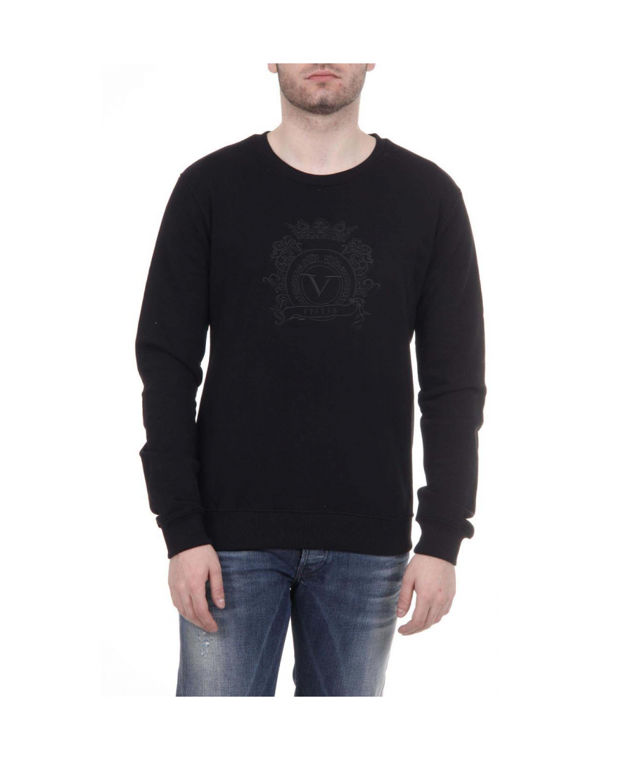 Image for V 1969 Italia Mens Sweater ART. 4469 BLACK