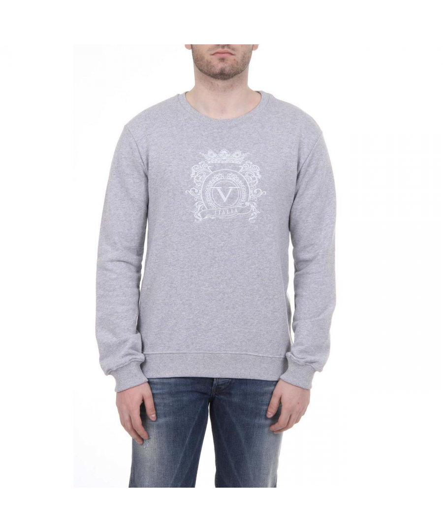 Image for V 1969 Italia Mens Sweater ART. 4469 LIGHT GREY