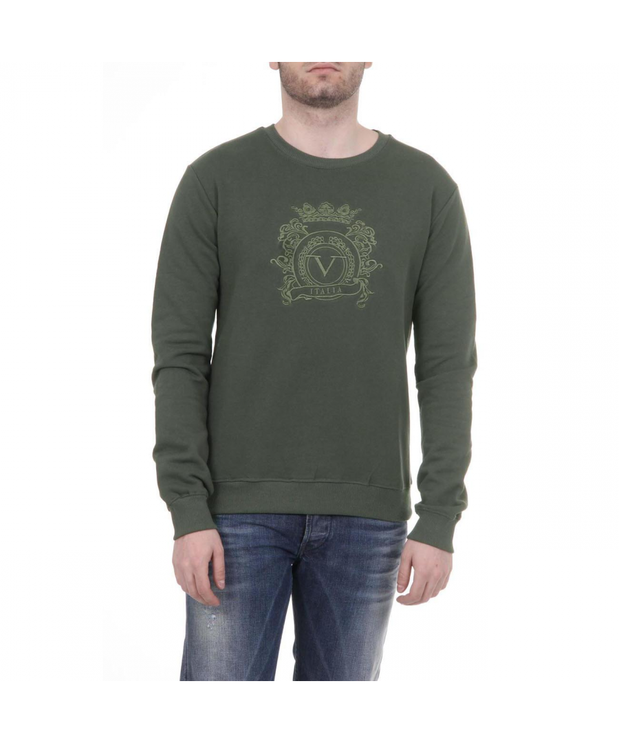 Image for V 1969 Italia Mens Sweater ART. 4469 MILITARY GREEN