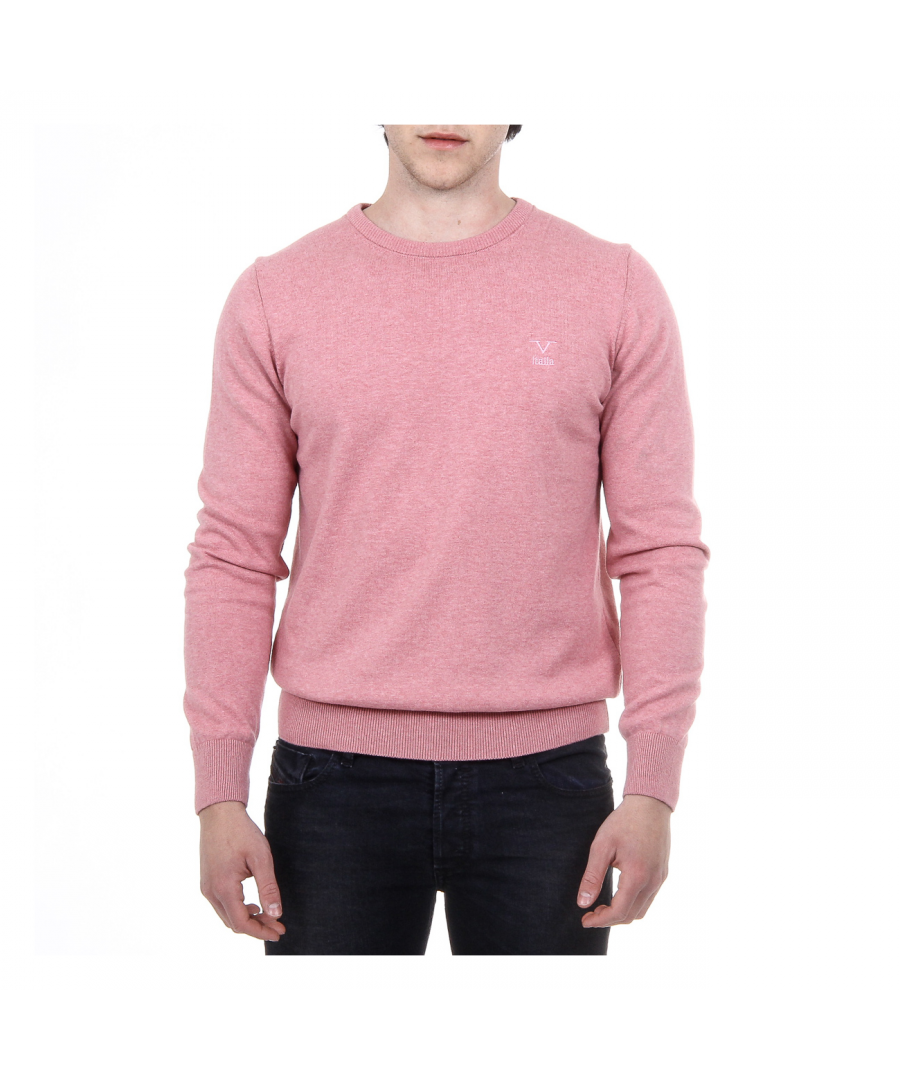 Image for V 1969 Italia Mens Sweater Long Sleeves Round Neck