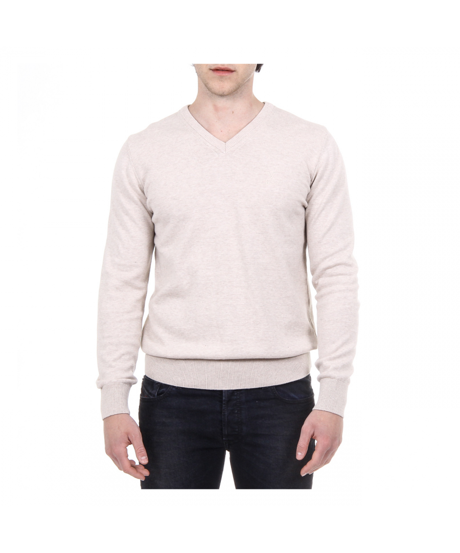 Image for V 1969 Italia Mens Sweater Long Sleeves V-Neck