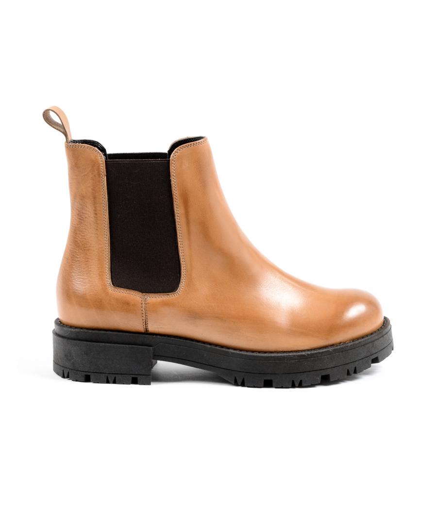 Image for V 1969 Italia Womens Ankle Boot Brown ZARA