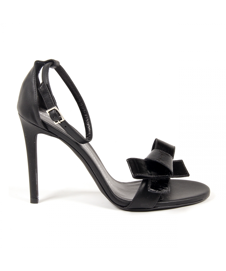 Image for V 1969 Italia Women's Ankle Strap Sandal Black BEATRIZ